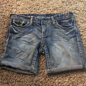 Maurice's mid length shorts